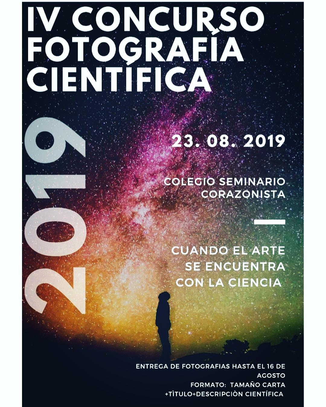 IV Concurso de fotografía científica 2019